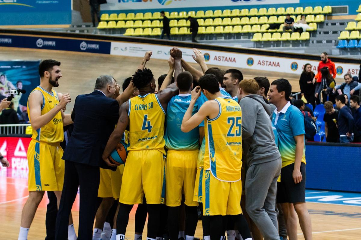 Баскетбольный клуб Астана 2019/2020