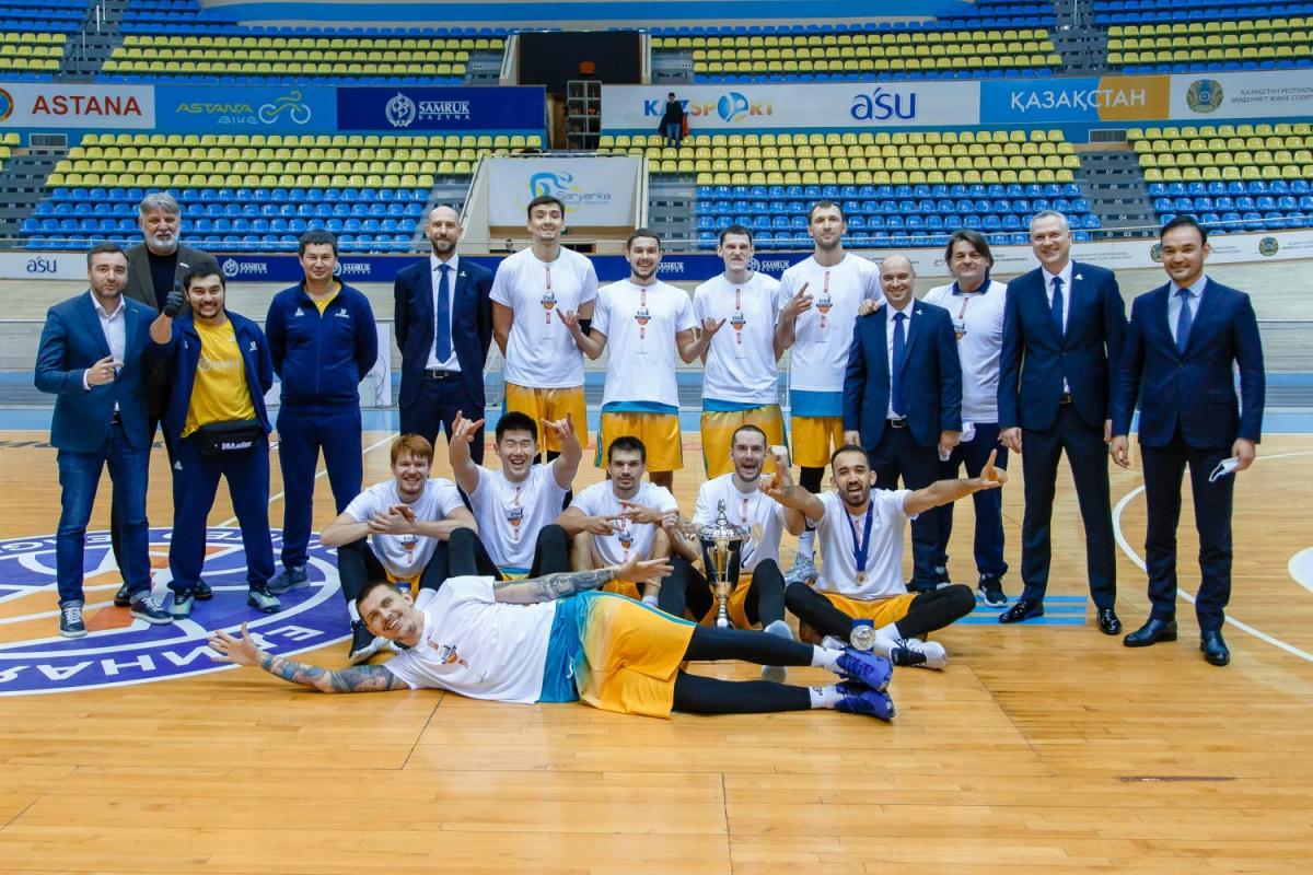 Basketball Club Astana— Kazakhstan Cup 2020