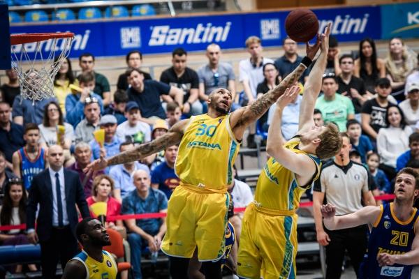 Единая лига ВТБ— 1/4 финала: «Астана» — «Химки» (3-й матч)
