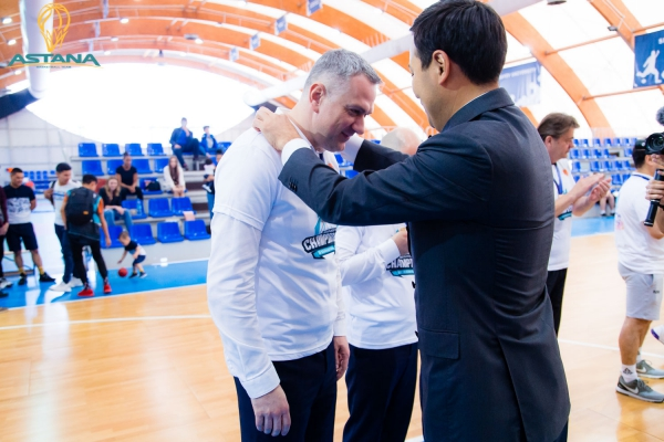 Национальная лига— Финал: «Астана»— «Барсы Атырау» (2-й матч)