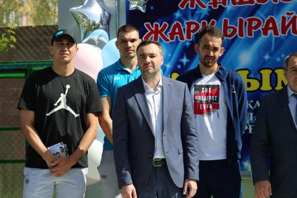 Праздничный концерт в центре социальной адаптации «Нурлы Журек»