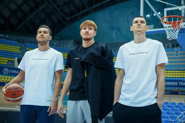 Презентация коллекции одежды Баскетбольного клуба «Астана» и казахстанского бренда ALIBEKOV