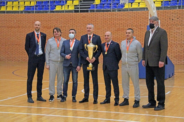 Cup of Kazakhstan among men's teams 2021 awarding ceremony