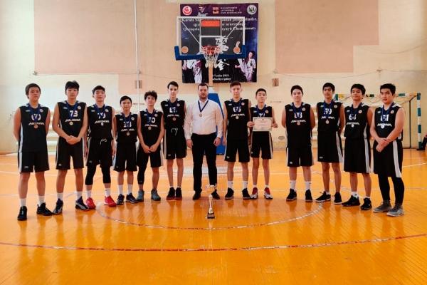 «Астана» баскетбол академиясы U-15 Көктемге Чемпионатында