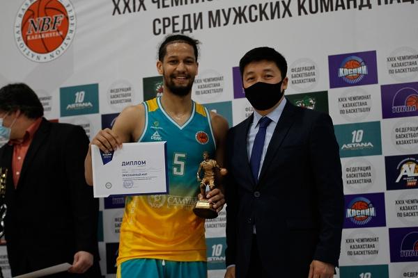Awarding ceremony of National league 2020/2021
