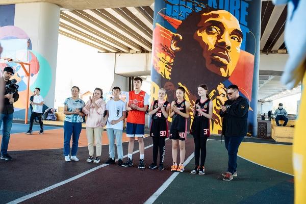 Благотворительный проект баскетбольного клуба «Астана» и Бейбита Алибекова
