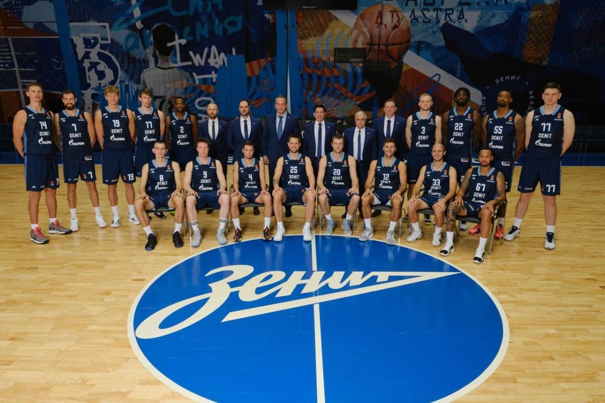 Баскетбольный клуб Зенит 2021/2022