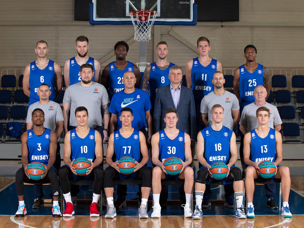 Basketball club Enisey 2020/2021