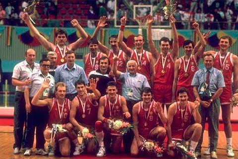 Сборная СССР по баскетболу 1988