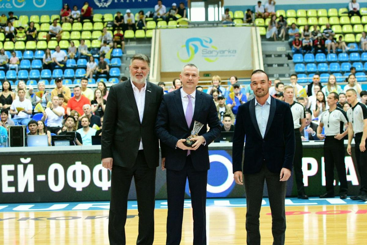 Эмиль Райкович - лучший тренер чемпионата Единой лиги ВТБ сезона 2018/2019