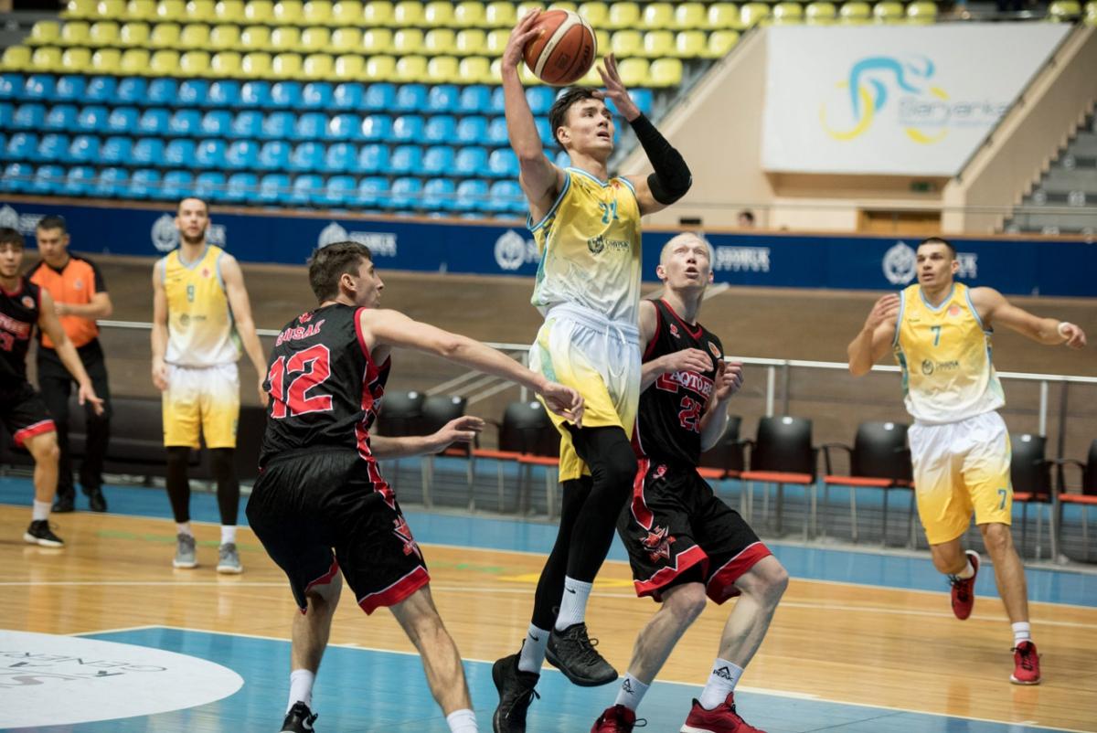 Аскар Майдекин— Баскетбольный клуб Астана