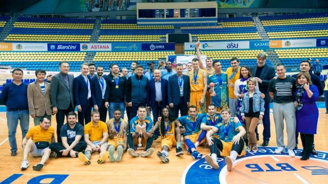 Национальная лига —Финал: «Астана» — «Барсы Атырау»
