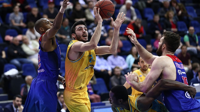 VTB United league — 1/4 final (1/3): CSKA — «Astana»
