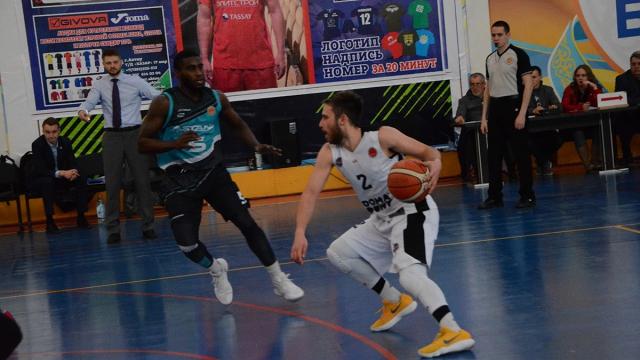 Национальная лига— 3 матч 1/2 финала: «Каспий»— «Астана»