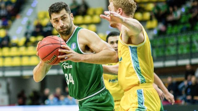 Единая лига ВТБ: «Зелена Гура»— «Астана»