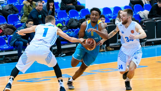 Серия матчей Национальной лиги: «Астана»— «Синегорье»