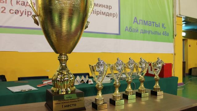 Церемония награждения Кубок Казахстана среди мужских команд 2019