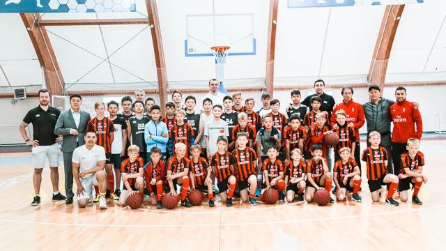 Мастер-класс детской академии баскетбола «Астана» для воспитанников детских домов