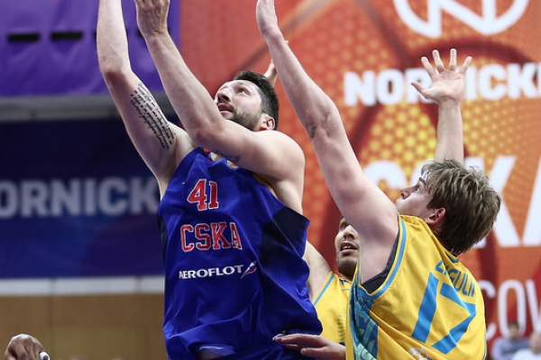 VTB United league — 1/4 final (2/3): CSKA — «Astana»