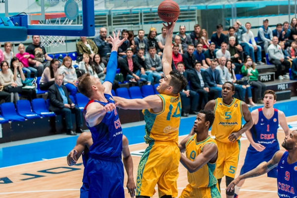 VTB United league — 1/4 final (3/3): «Astana» — CSKA