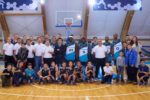 Presentation of the basketball club «Astana» 2017/2018