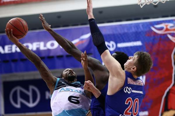 VTB United league: CSKA — «Astana»