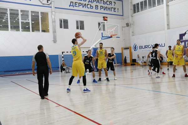 Match series of National league: «Caspiy» — «Astana»