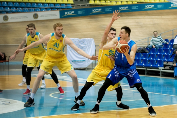 Match series of National league: «Astana» — «Sinegoryie»