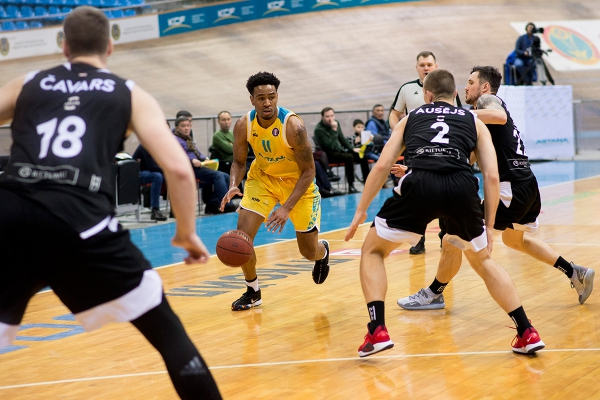 VTB United league: «Astana» — «VEF»
