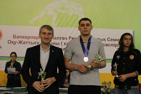 Men's Kazakhstan Cup 2019 awarding ceremony