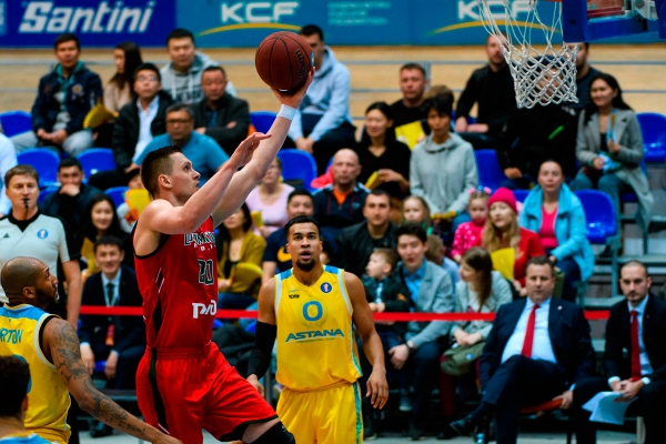VTB United league: «Astana» — «Lokomotiv Kuban»