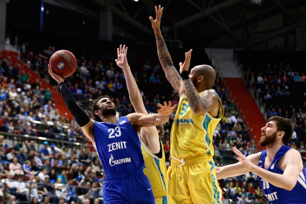 Единая лига ВТБ: «Зенит» — «Астана»
