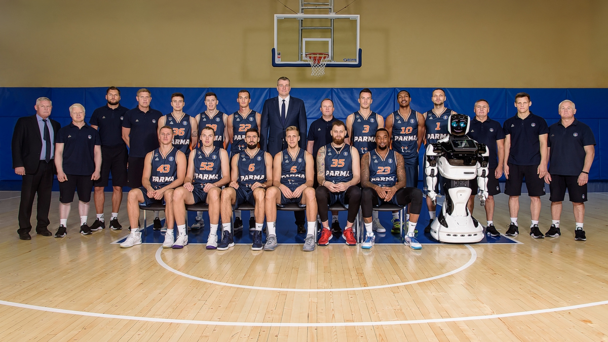 Basketball club Parma 2019/2020